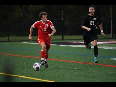 Muskingum University Mens Soccer vs Washington & Jefferson (9/26/18)