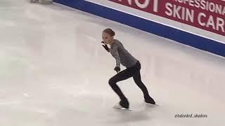 Анна Щербакова Финал Гран при 2019 Тренировка произвольной программы