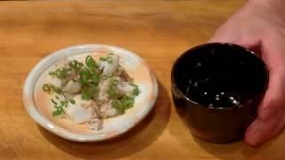 《アオリイカの捌きと 下足の茹で、炒り、焼き、【3】》・・・・大和の 和の料理《下足》
