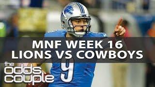 NFL Picks | Detroit Lions vs Dallas Cowboys | Betting Preview
