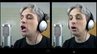 How To Sing a Cover of Come Together by The Beatles Vocal Harmony Breakdown Tutorial