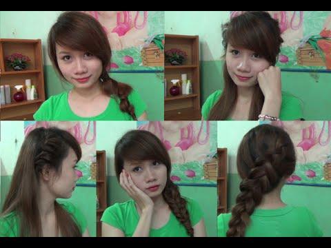 Hairstyles - 4 Kiểu Tóc Đẹp Mà Đơn Giản Để Mặc Áo Dài