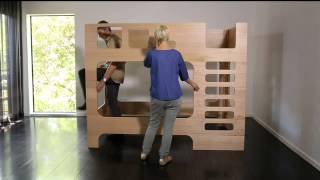 Lilly & Lolly Scoop Bunk Bed Assembly