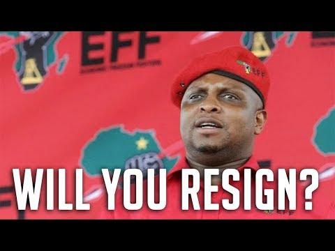 Will Floyd Shivambu Resign? | South Africa (2018)