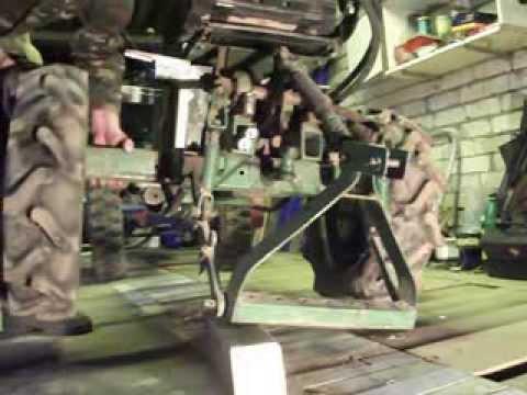 Косилка роторная КРМ-1 для мотоблока МТЗ - YouTube