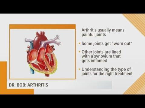 Dr. Bob: Different types of arthritis