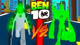 Ben 10 Upgrade VS Goop Roblox Ben 10 Arrival of Aliens