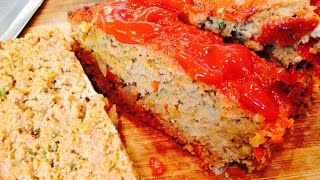 DELICIOUS Homemade Turkey Meatloaf Recipe  | ThymeWithApril