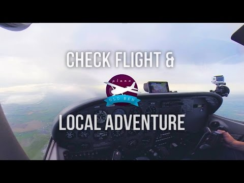 Check Flight & Local Adventure | ATC Audio