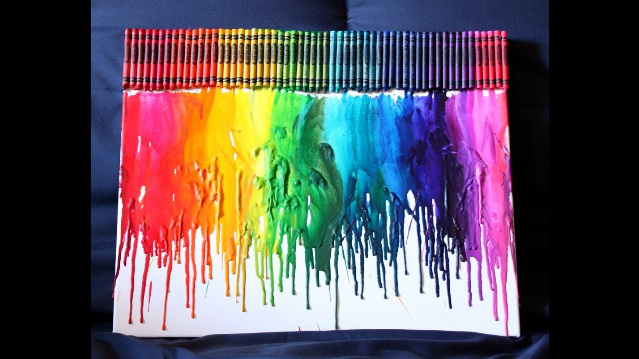 Cool Melted Crayon Art Ideas Pinterest Craft Diy Tutorial Youtube