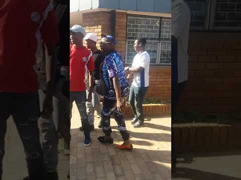 Material Mathousand at the university of Limpopo before his