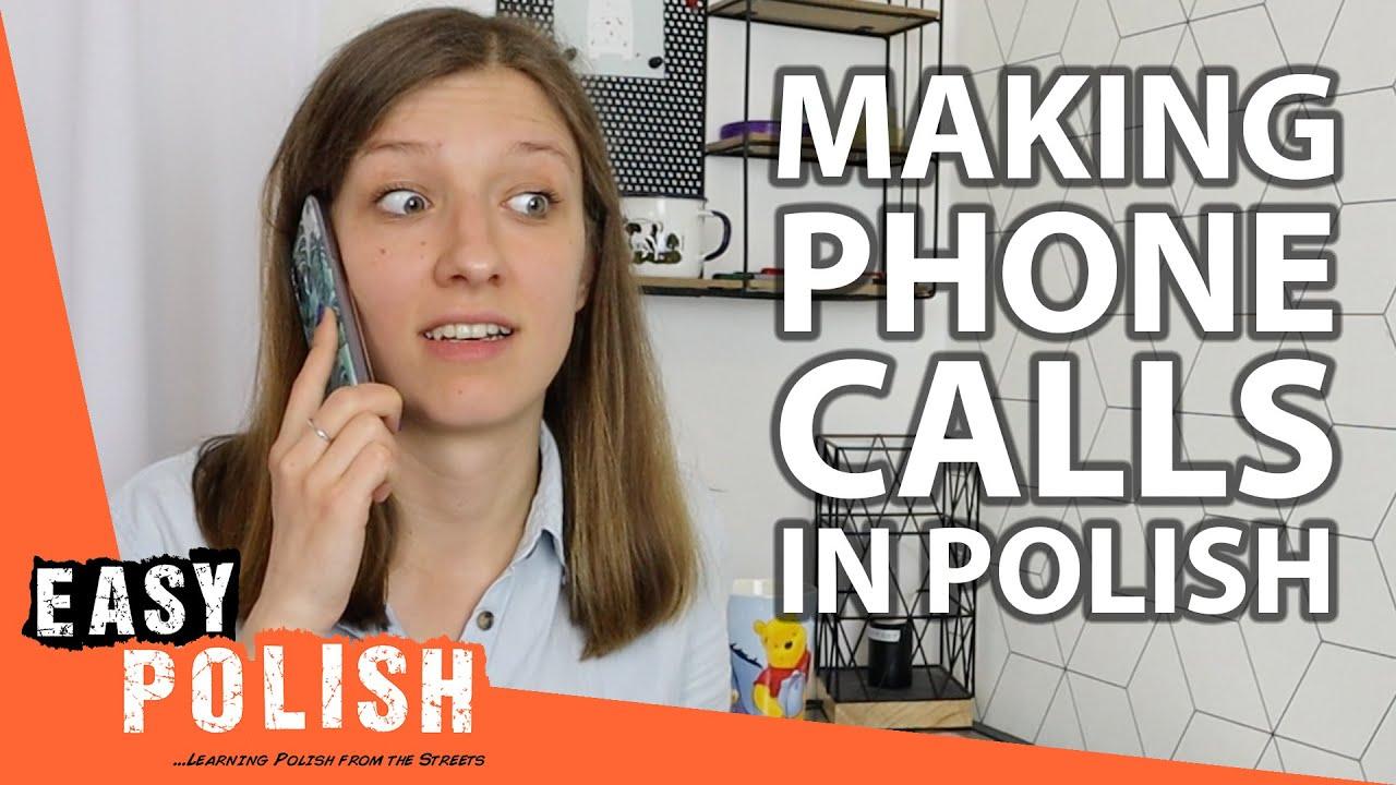 10+ Useful Sentences for Making Phone Calls in Polish   Super Easy Polish 28