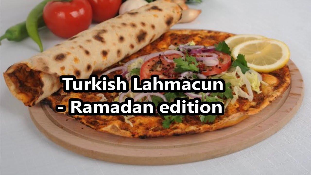 TURKISH PIZZA - LAHMACUN - EASY RAMADAN RECIPE 2017 - Dunyas Kitchen