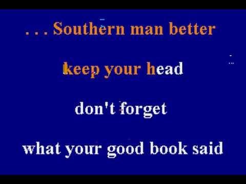 Neil Young - Southern Man - Karaoke