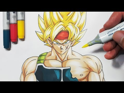 How To Draw Bardock!   Goku's Father - Step By Step Tutorial!