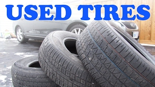 Used Tire Buying Guide