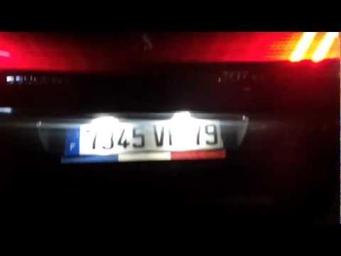 Oświetlenie tablicy rejestracyjnej LED - Własne wykonanie