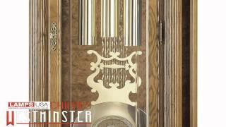 Howard Miller Bronson Floor Grandfather Clock Chimes 611 019