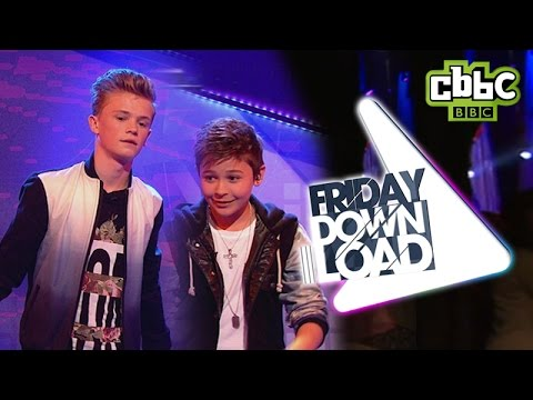 Bars and Melody Hopeful live - Friday Download CBBC