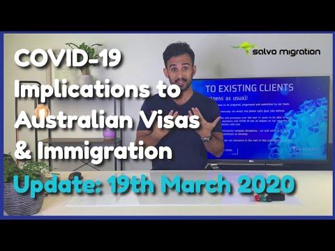 Coronavirus (COVID-19) And Implications To Australian Visas & Immigration