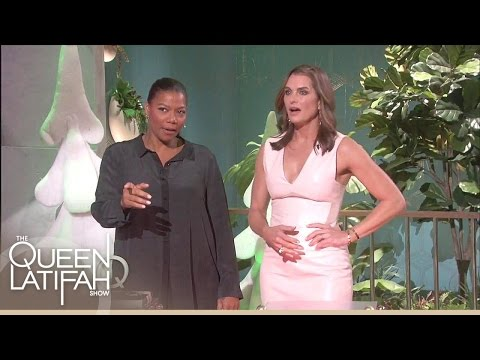Brooke Shields Takes On A Holiday Game | The Queen Latifah Show