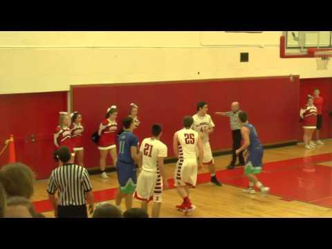 Boys Varsity Basketball Baldwinsville VS Cicero North Syracuse High 1/15/2016