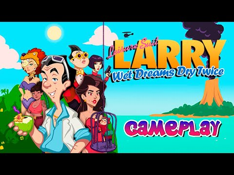 Leisure Suit Larry - Wet Dreams Dry Twice ► Gameplay (No Commentary) |