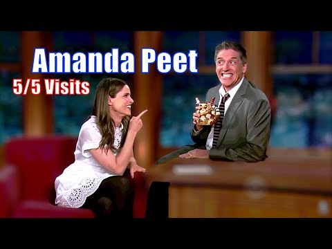 Amanda Peet  Has A Contagious SmileLaugh  55 Visits In Chronological Order