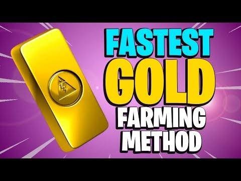 FASTEST way of *FARMING GOLD* | Fortnite Save the World Even