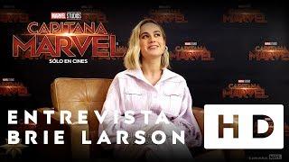 Capitana Marvel - Entrevista a Brie Larson