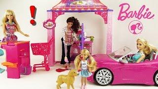 """Мультик """"Барби и Челси в магазине"""" Видео для детей с куклами ♥ Barbie Original Toys"""