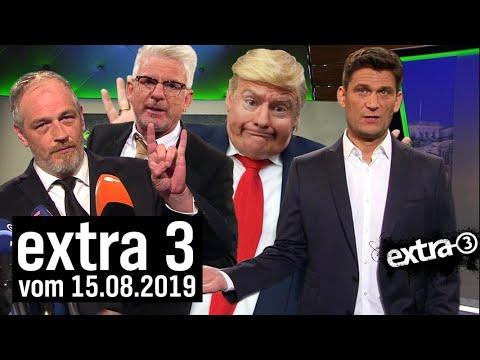 Extra 3 vom 15.08.2019 im Ersten   extra 3   NDR