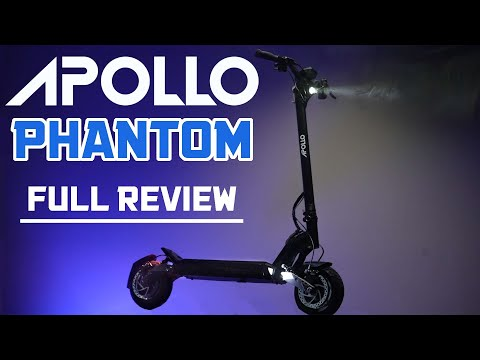 Apollo Phantom Review: New, Powerful, Most Anticipated Scooter of 2021