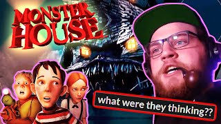 Monster House is Scary (Not Really)