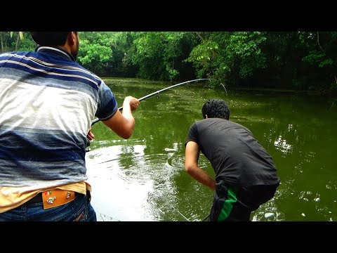 10 kg Catla fish hunting by Uddin Forhad   Best Fishing Video By Professional Fish Hunter
