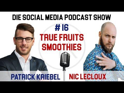 Interview mit Nic Lecloux von true fruits Smoothies über interne Social Media Abläufe