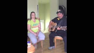 "Roger Lee Martin and Nancy Vignola cover of ""Drifting too far from the shore"""
