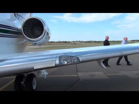 Hawker 800XP (HS125-800XP) Walkaround and Tour | Osceola | N317CC