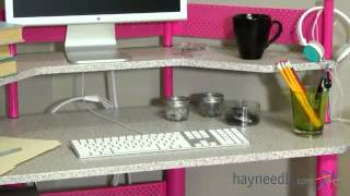 Calico Study Corner Desk - Product Review Video