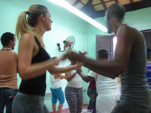 Rueda stage  Cuban All stars & Salseros Cubanos- Santiago de Cuba