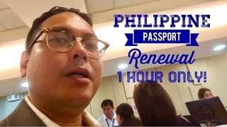 FAST Philippine Passport Renewal in 1 Hour DFA Courtesy Lane SM Megamall Satellite Office Manila