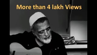 Lucky Ali singing 'O Sanam' and crying  | Viral Video | Life is Uncertain I Sham Savere Song