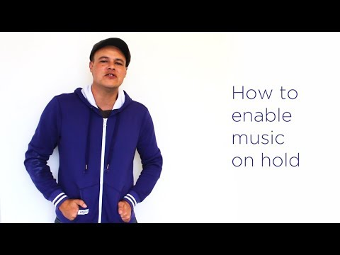 Voys - How to enable music on hold