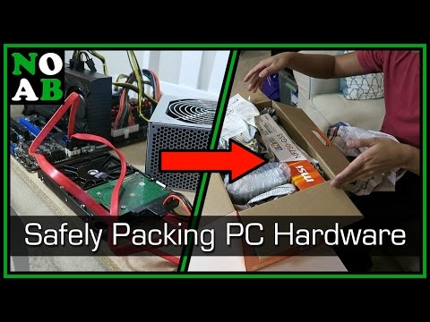 How to Pack PC Hardware/Electronics to Transport (on a Budget)