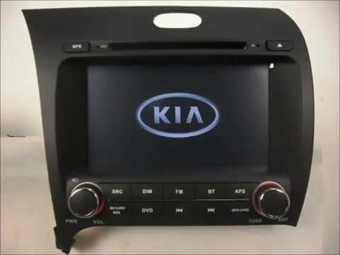 Auto Dvd Player For Kia Cerato 2013 2014 Gps Navigaiton