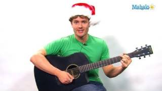 How to Play a Holly Jolly Christmas on Guitar