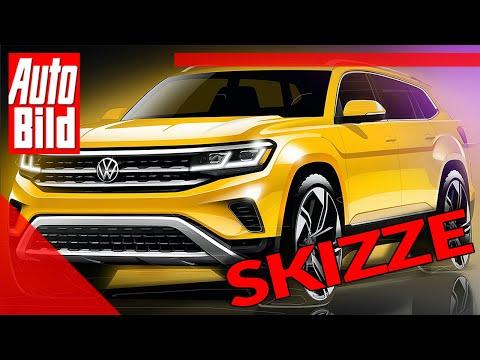 VW Atlas (2020): Skizze - Neuvorstellung - SUV