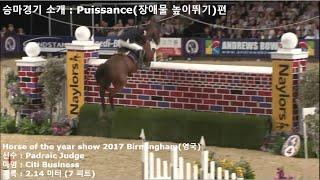 승마경기 소개 : Puissance(장애물 높이뛰기) …