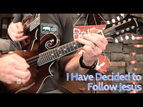 Gospel Mandolin–I Have Decided to Follow Jesus! - YouTube