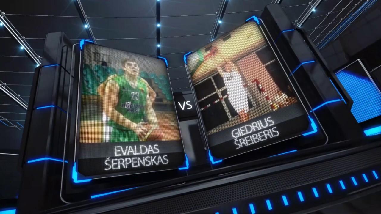 TOPsport Ghetto King 1x1: Evaldas Šerpenskas vs Giedrius Šreiberis